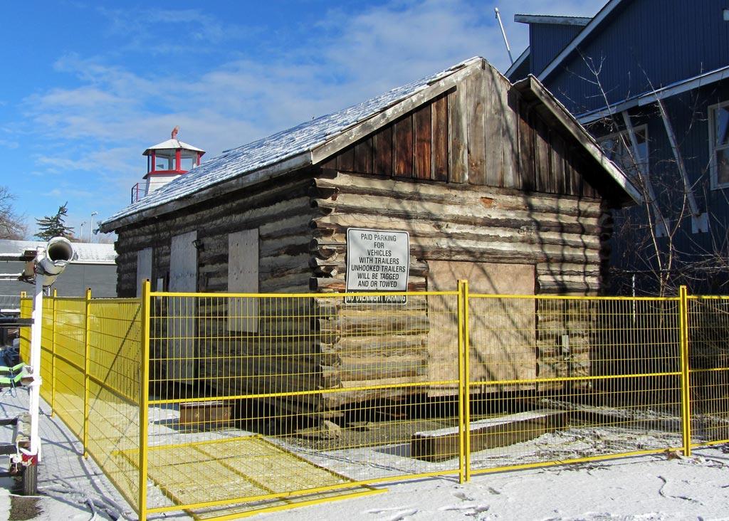 Lyon's Log Cabin Relocation & Restoration