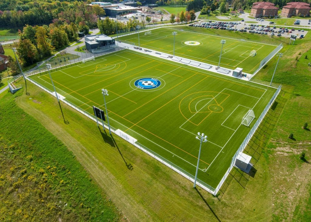 Fleming College Sports Field Complex & Change House