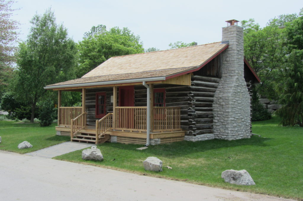 Lyon's Log Cabin Relocation & Restoration