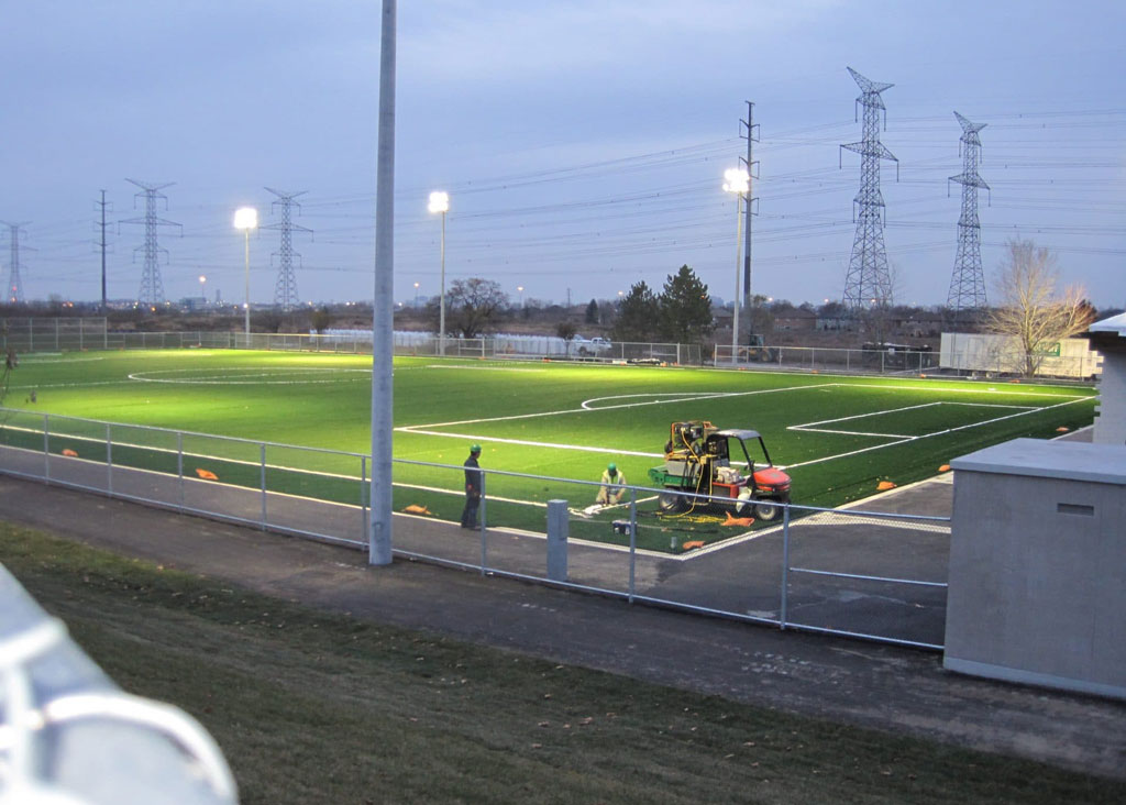 St. Robert's Artificial Turf Field, Bubble & Clubhouse