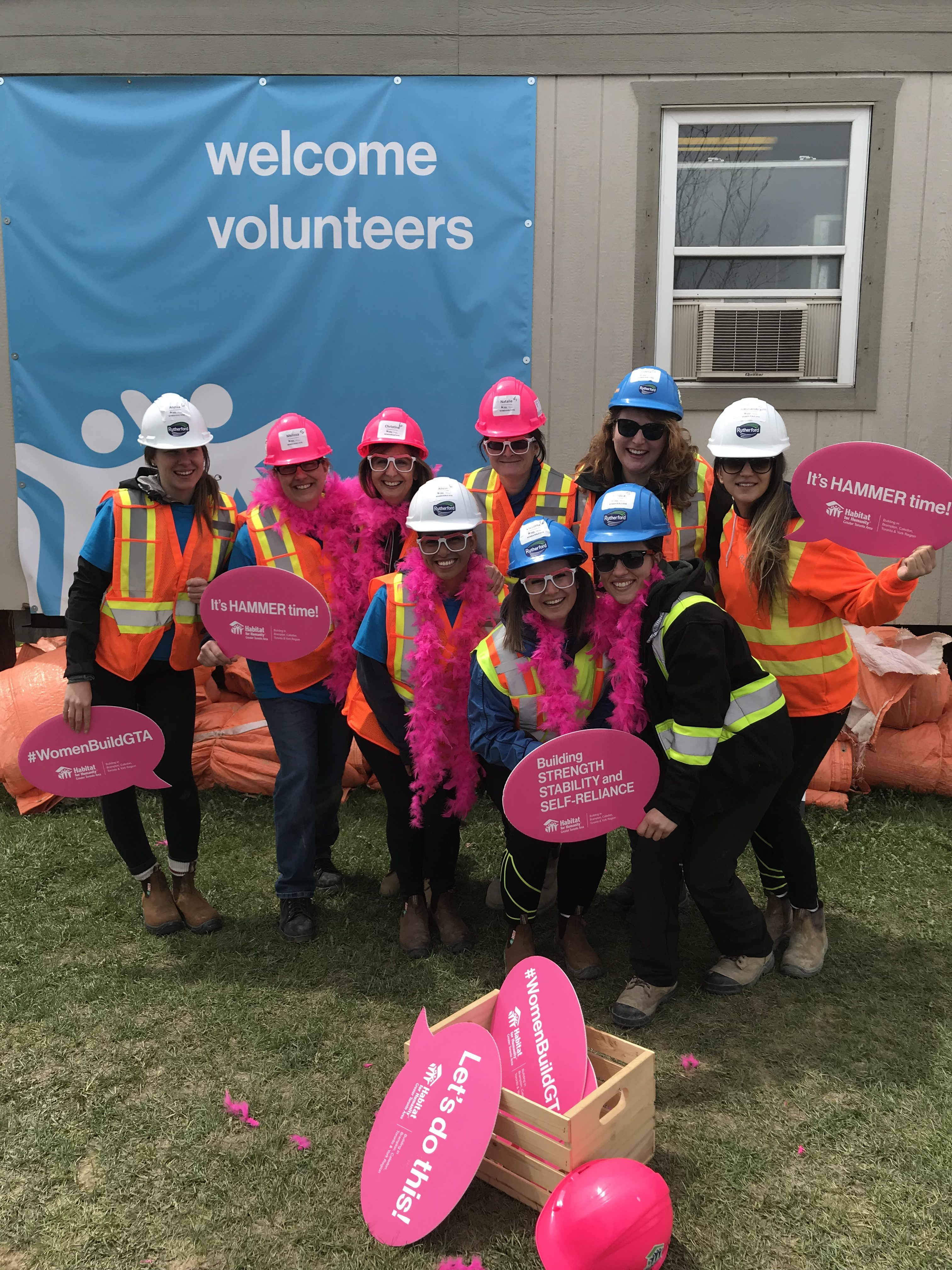 A Successful Day at the Women's Build 2018