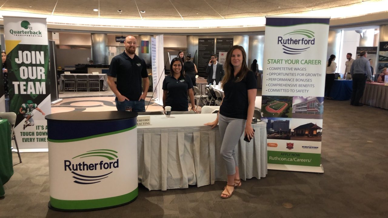 Rutherford Attends Canada Job Expo July 2018