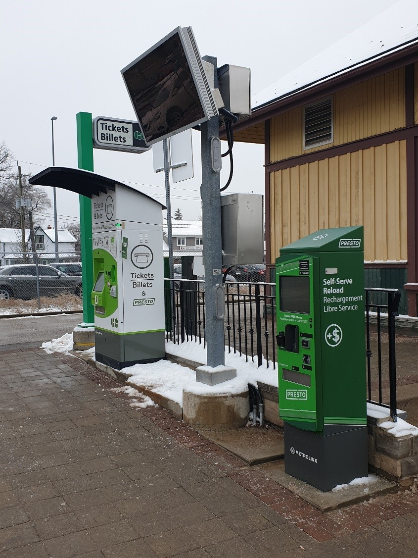 AVM Deployment at Various Metrolinx Stations and Device Refresh