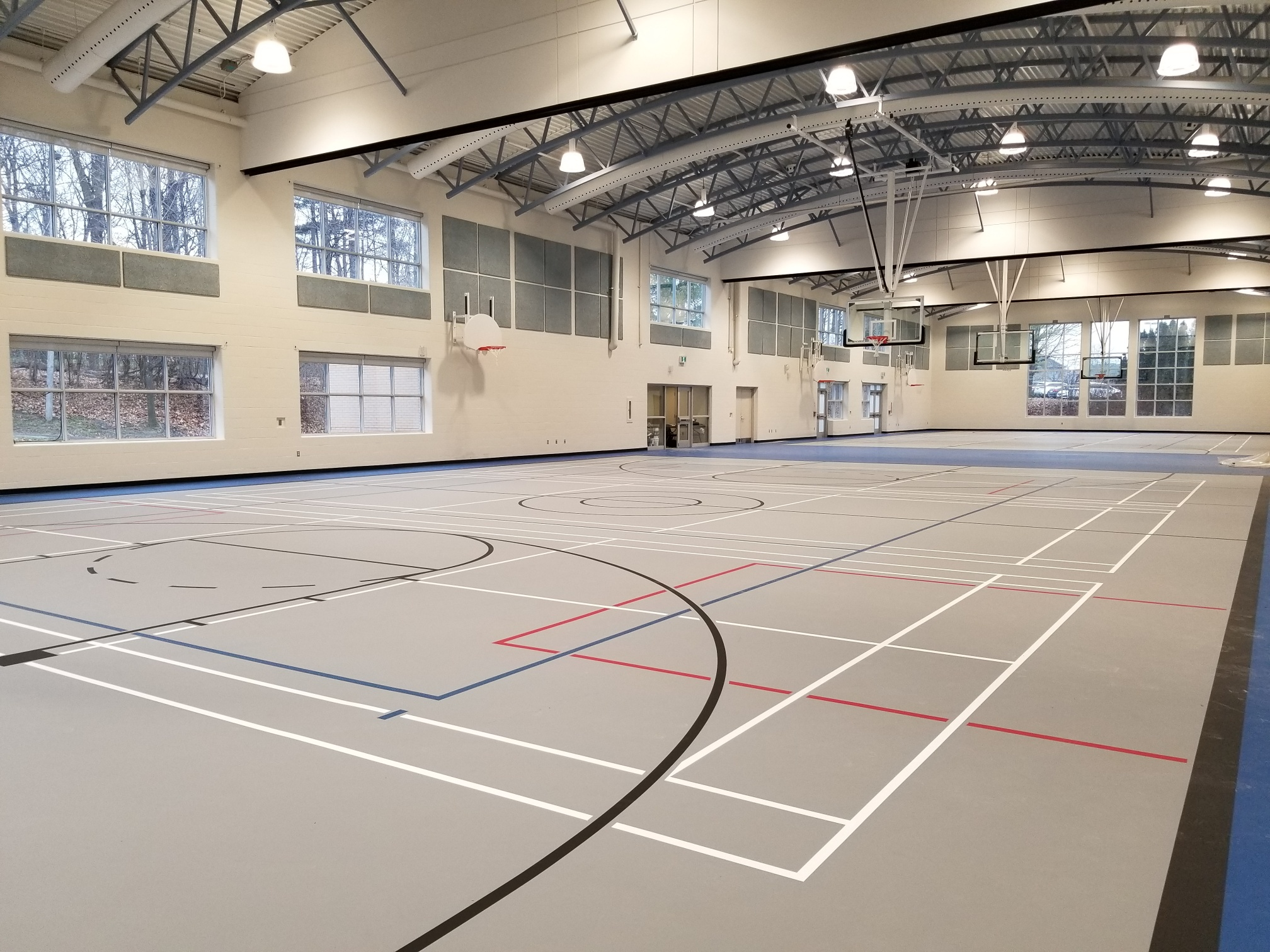 Renovation & Conversion of Bocce Court to Gym at Rouge Woods CC
