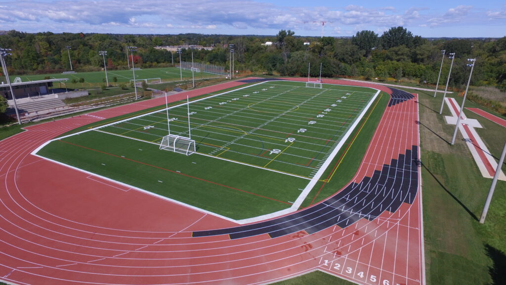 Bill Crothers SS – Replacement of Two Artificial Turf Fields and an Eight Lane Track