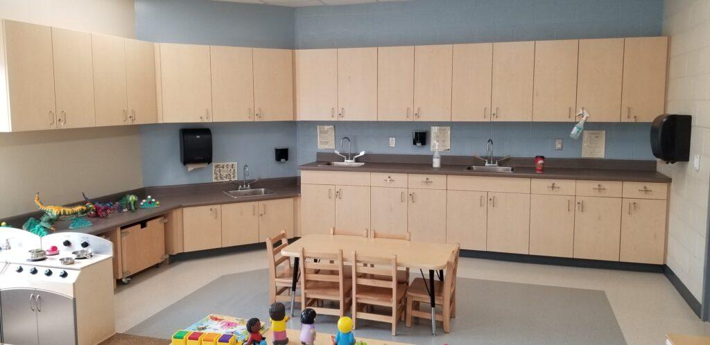 Ecole Elementaire Quatre-Rivieres – Child Care Renovation